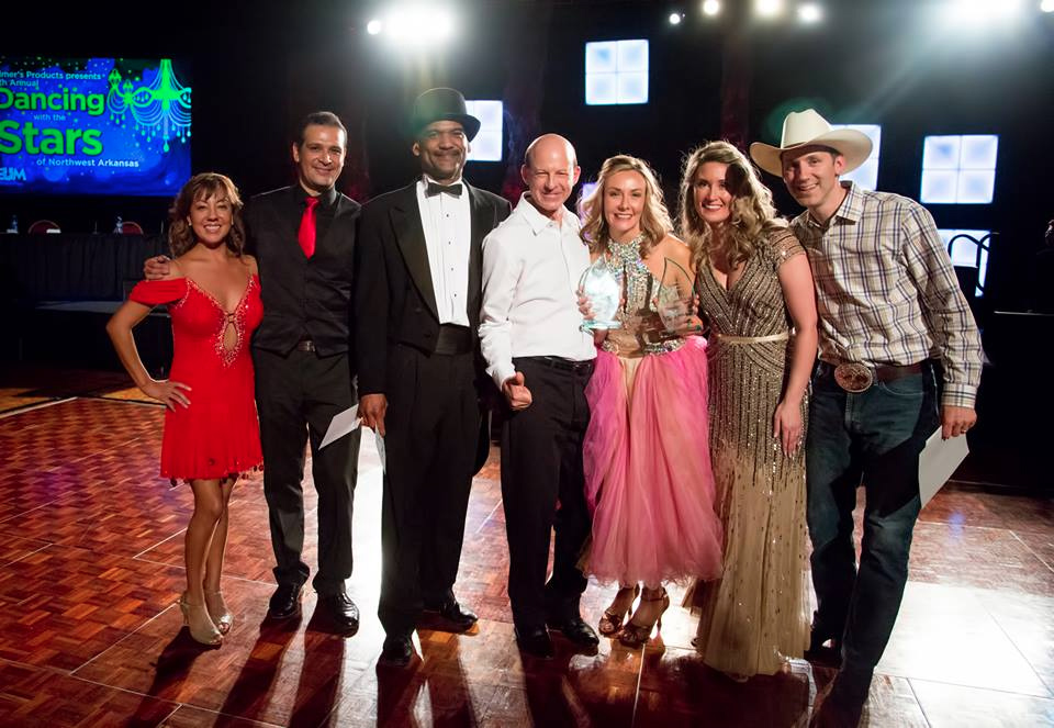 What a night!  7th Annual Dancing with the Stars of Northwest Arkansas